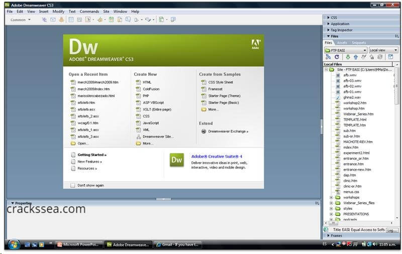 Download Adobe Dreamweaver Latest version CC 20.1.0.15211
