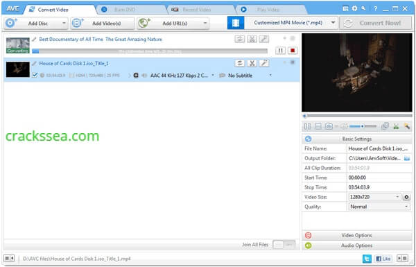 Any Video Converter Ultimate 7.0.1 Crack With License Key