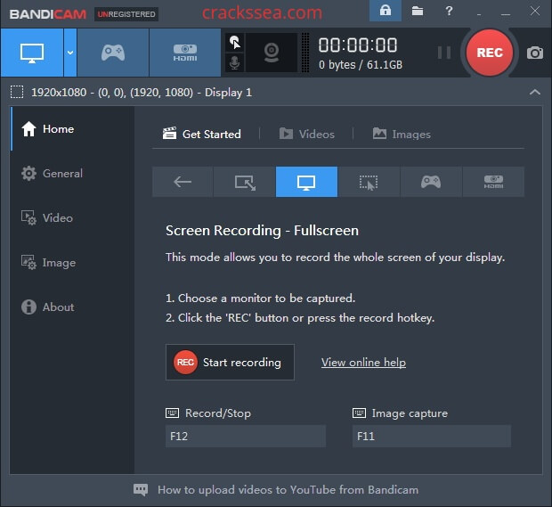 Bandicam 4.6.1.1688 Crack With Serial Key Free Latest