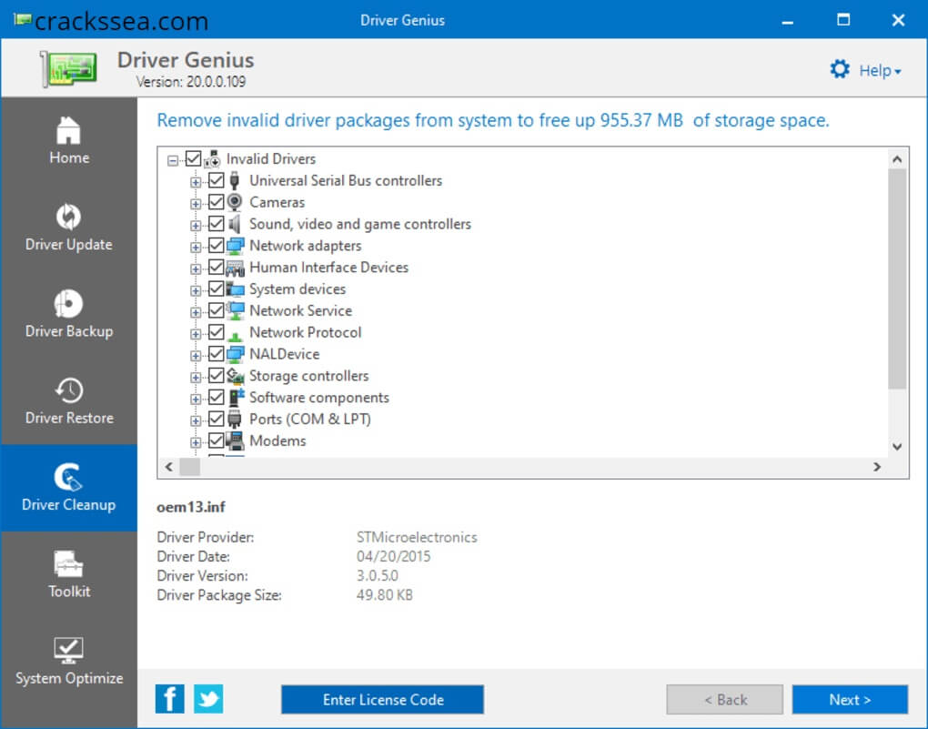 Driver Genius Pro 20.0.0.130 Crack With Keygen Download