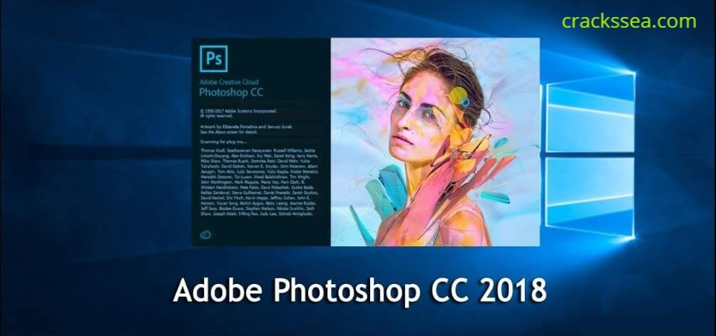 Adobe Photoshop CC 2018 V19.0 License Key With Crack