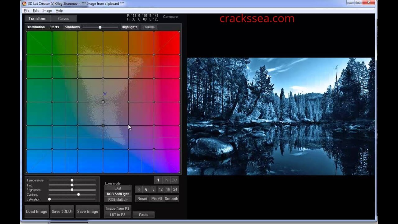 3D LUT Creator 1.54 Full Version Crack with Serial Key