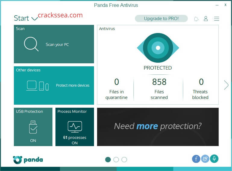Panda Antivirus Pro 2020 Crack Plus License Keys 2020