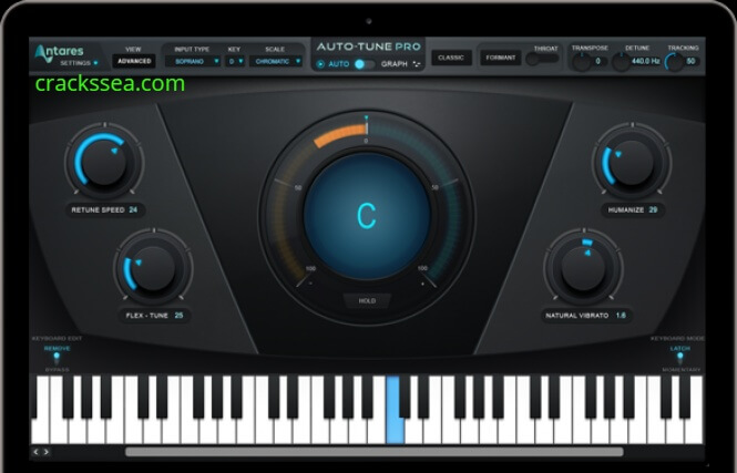 Antares AutoTune Pro Keygen With Serial Key Free Download