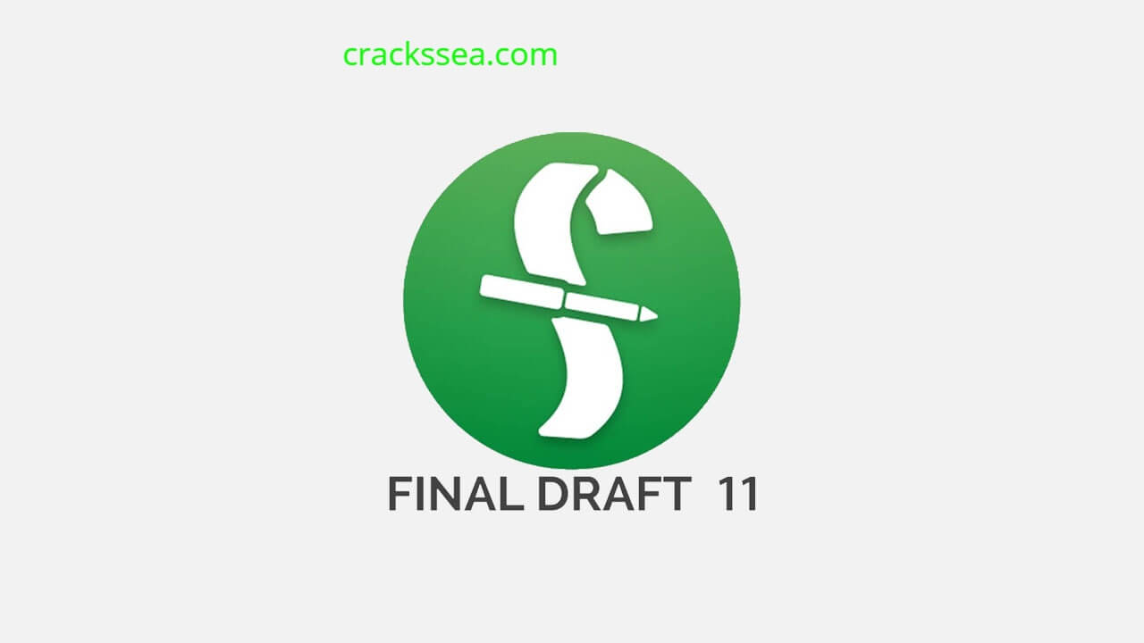 Final Draft Crack With Serial Key Download Latest