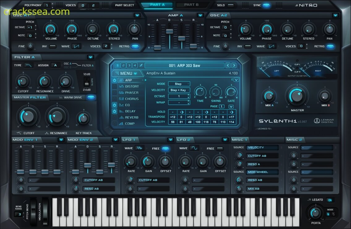 Sylenth1 Full Crack Plus License Key Free Download