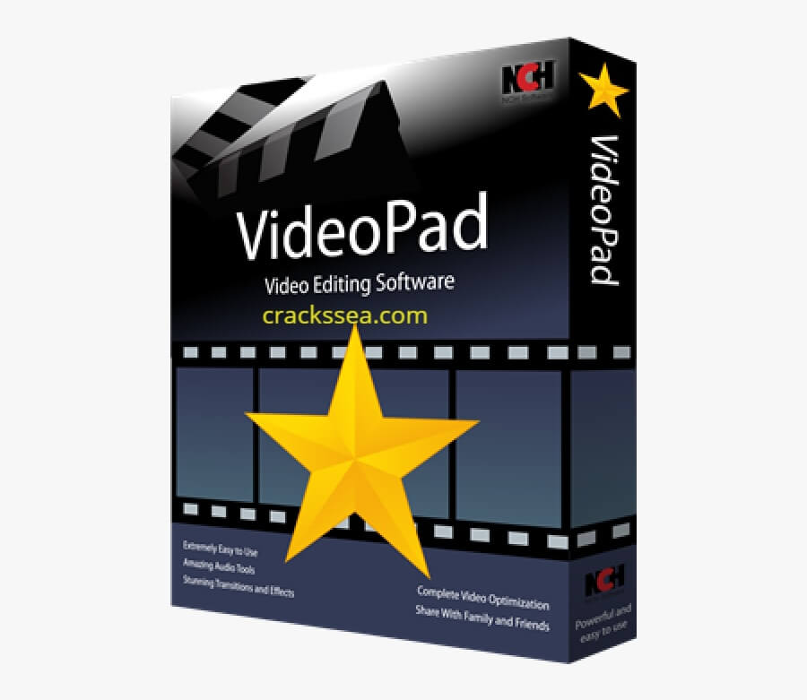 VideoPad Video Editor Crack With Registration Code Latest
