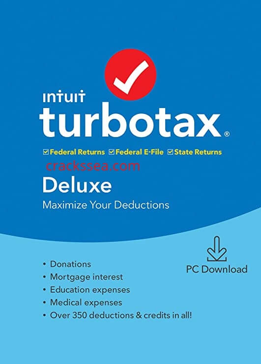Intuit TurboTax All Editions v2019.41.12.202 With Crack [Latest]