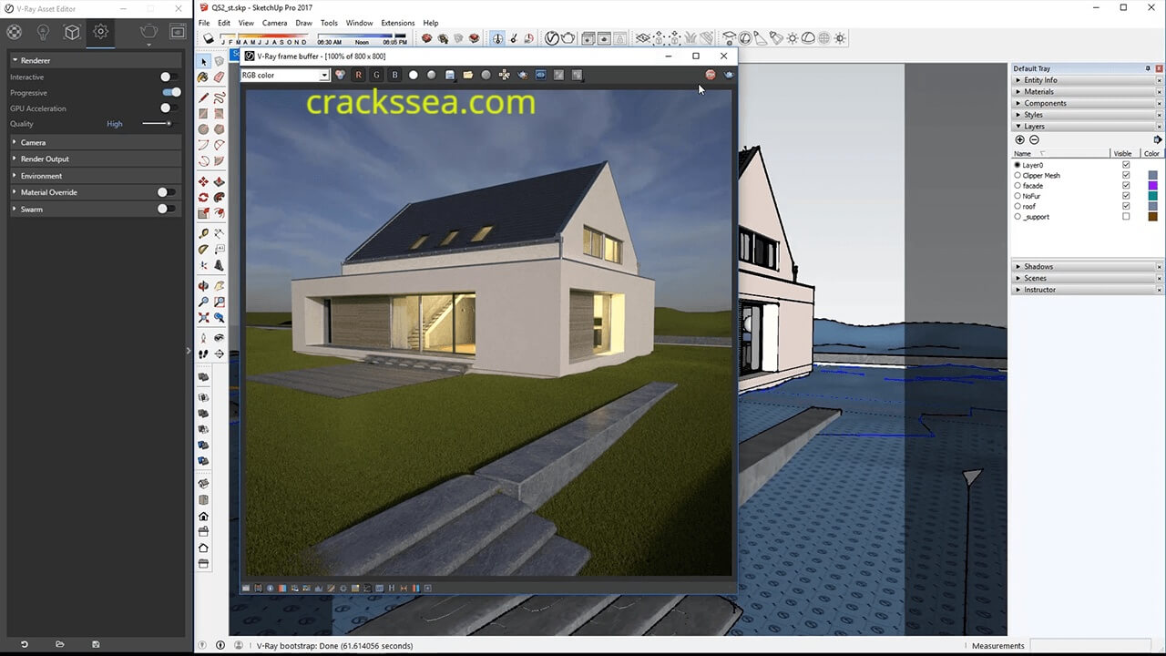V-Ray Sketchup Full Crack