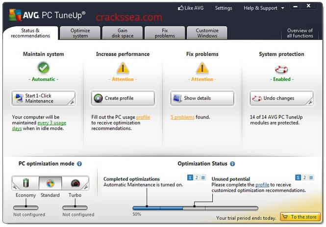 AVG PC TuneUp free download